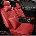 Cubierta de asiento de coche de cuero de alta calidad especial para honda todos los modelos VEZEL XRV S1 CRIDER Jazz Ciudad Odyssey crosstour CRV Accord auto