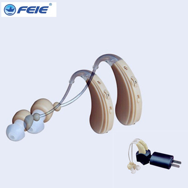 Rechargeable Ear Hearing Aid Analog Hearing Aids For the Elderly Behind Ear Care Pocket Deaf-Aid Old Man Deaf Audiphones guangzhou feie deaf rechargeable hearing aids mini behind the ear hearing aid s 109s free shipping