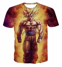 Anime Dragon Ball Z Goku Unisex 3D T-shirts