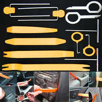 12Pcs Professional Automobile Audio Door Clip Panel Trim Dash Auto Radio Removal Pry Tools Set Car Panel Removal Tool Kit