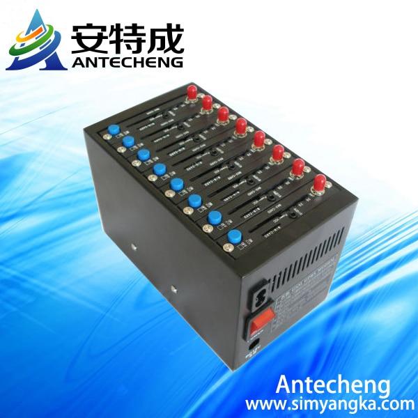 Wavecom gsm 8 port modem Q2403 sms gsm gprs modem pool