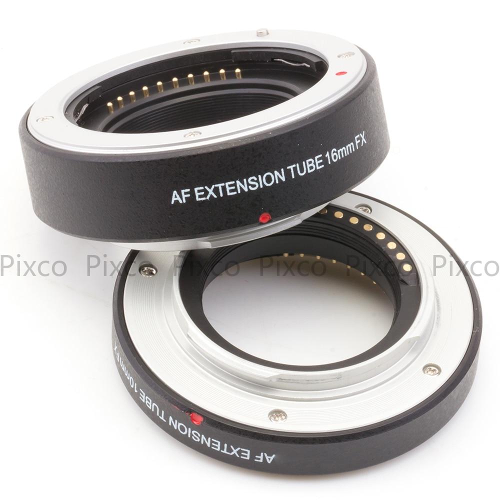 Image 2 - ADPLO for X A5 X A20 X A10 X A3 X A2 X A1 X T2 X E3 X E2S X E2 X  E1 X T100 Autofocus Macro Extension Tube for Fujifilm FX Cameramacro  tubefuji macrosuit suit