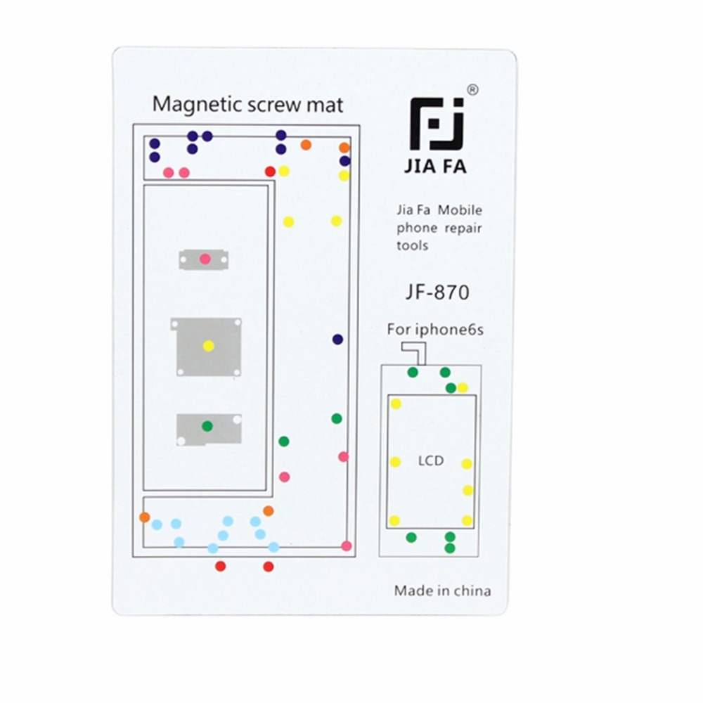 Magnetic Screws Mat For IPhone 6s