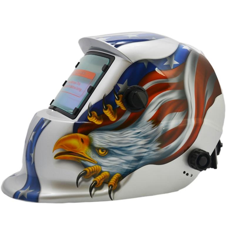 Tools Popular Brand Fast Delivery Free Protective Pp Sheet Energy Welder Tools Shade 9-13 Darkening Welding Helmet Trq-hd33 With 2200de