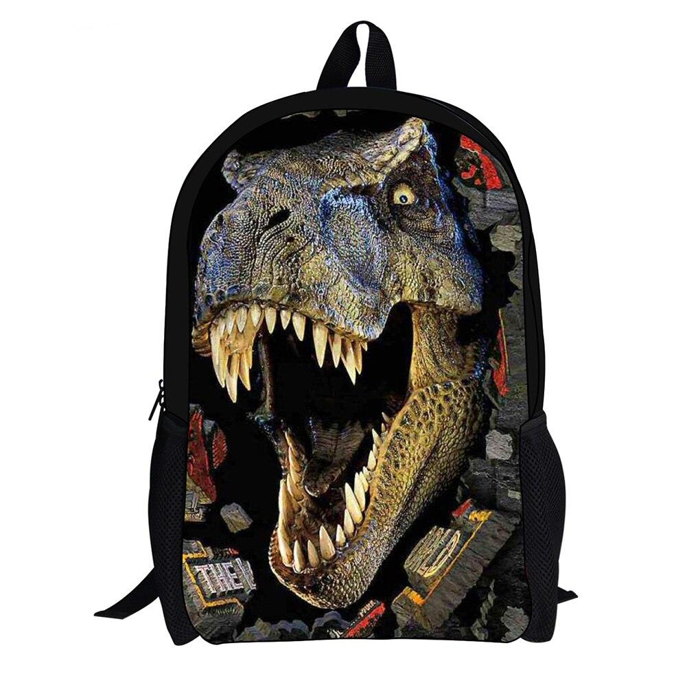 Herzhaft Designer Große 3d Dinosaurier Schule Rucksäcke Für Kinder Tourismus Tasche Frauen Leopard Rucksack Mode Tier Rucksack Pullover