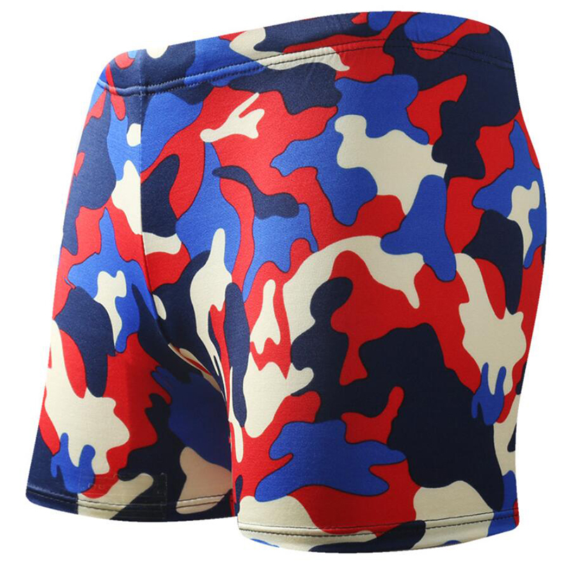 Camouflage Men Swimming Trunks Briefs Swimwear Swimsuit Swim Shorts Pants Wear Colorful Bathing Beach Suit maillot de bain mayo in Body Suits from Sports Entertainment