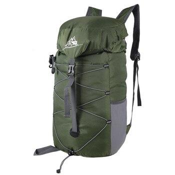 0e935ef1f04f 30L Водонепроницаемый Нейлон Складной Рюкзак Туризм Путешествия Рюкзаки  сумка Прочный ruckpack сумки на ремне mochila ортопедический рюкзак рюкзак.
