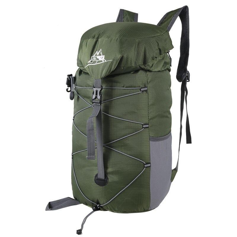 35L Waterproof Nylon Folding Backpack trekking Travel Backpacks bag Durable ruckpack shoulder bags for women men mochila
