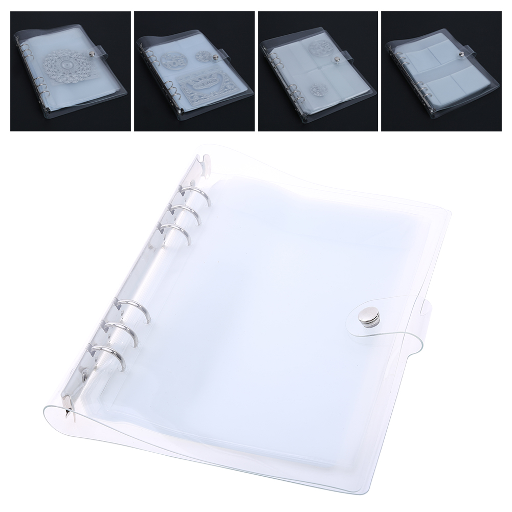 10 Sheets DIY Scrapbooking Cutting Dies Stencil Storage Book Case Organizer Die Cutter Template Books Collections