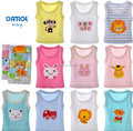 (5 pieces/lot) 100% cotton baby underwear Newborn Infants vest kids T-shirt children clothes