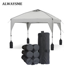 ALWAYSME الثقيلة مزدوجة مخيط الأوزان حقيبة الساق ل المنبثقة خيمة مظلة المرجح FeetBag الرمال حقيبة الفورية في الهواء الطلق الشمس المأوى