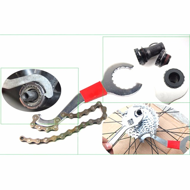 2016 New Cycling Repairing Tool Bike MTB Bicycle Flywheel Chain Disassembly Wrench