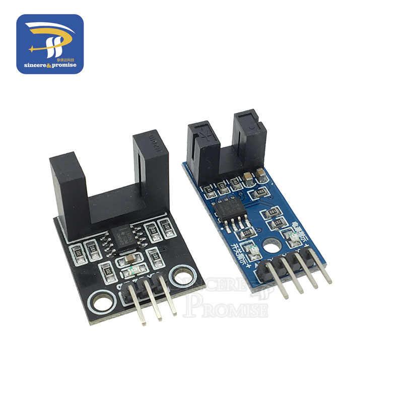 Slot-type Optocoupler Module Speed Measuring Sensor for Arduino 3.3V-5V HK