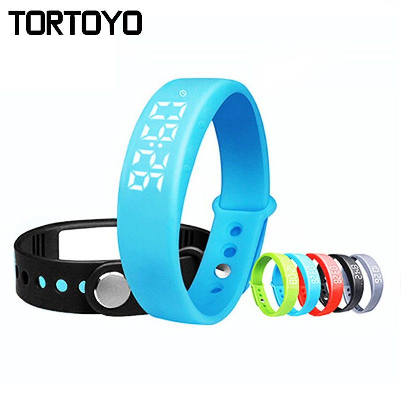 W5 Waterproof Smart Wristband Bracelet Watch Pedometer Sleep Tracker Smartwatch Fitness Sleep Tracker for iPhone IOS