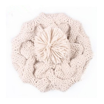 New 2016 Korean Women Winter Hats Girls' Warm Wool Twist Knitted Hat Fashion Beanies For Woman Flowers Cap Accessories Hot Sale modern led ceiling lights for home lighting plafon led ceiling lamp fixture for living room bedroom dining lamparas de techo