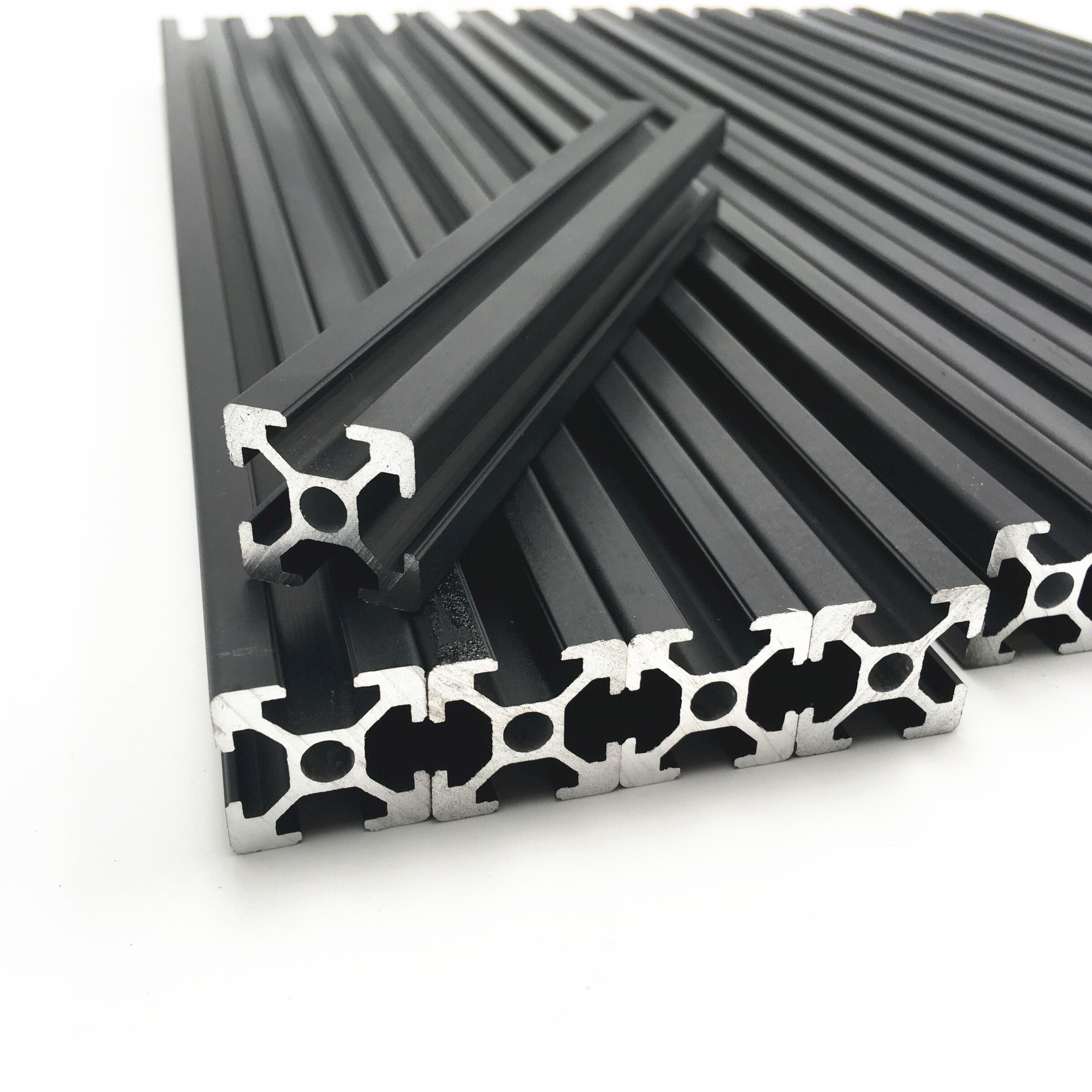 Aliexpress Buy 1set Hypercube 3d Printer Metal Frame Extrusion Amp Hardware Kit For Diy