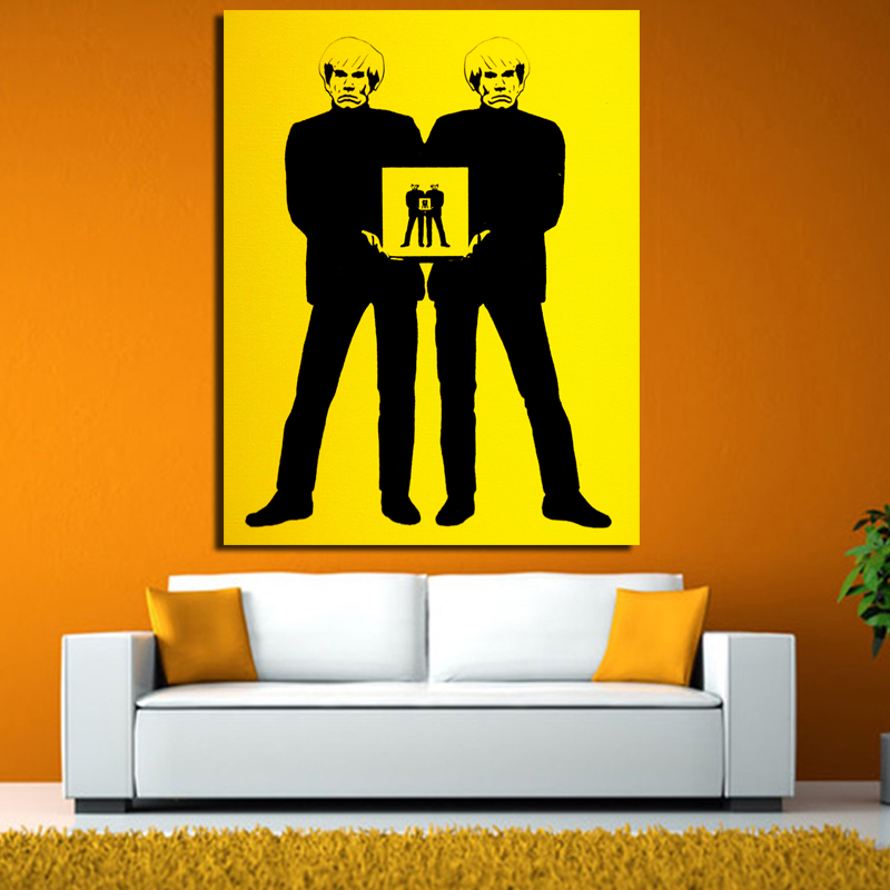 2017 Andy Warhol Wall Pictures Creative Oil Painting Print Canvas ...