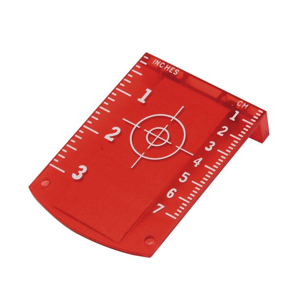 Laser Target Card Plate for Red Laser Level