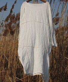 Γυναικείο καλοκαιρινό φόρεμα Λινό μακρύ