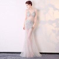 Customized Dress Celebrity Party Plus Size Sexy Dress Bodycon 2017 Women Halloween Runway Club Ladies Prom Long Beach Dresses