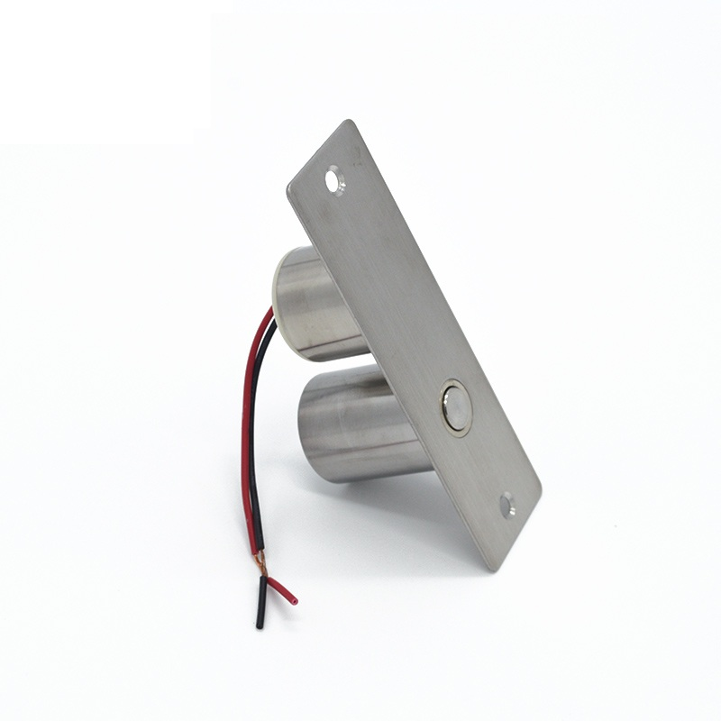 12V Stainless steel Easy to install Mini Electric Bolt Lock for Door Access Control System low temperature timer electric bolt lock stainless steel clip bracket electric mortise lock for glass door access control
