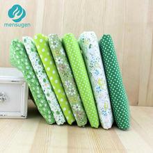 Meio metro largura 150cm tecido de algodão verde para costurar tissu para retalhos materiais diy costura telas tilda boneca pano
