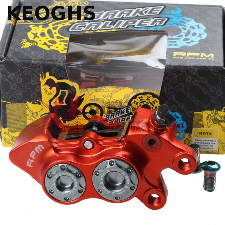 ФОТО KEOGHS Motorcycle Brake Caliper Rpm 4 Piston 40mm Location Replacement