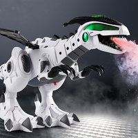 Dinosaur Toys For Kids Toys White Spray Electric Dinosaur Mechanical Pterosaurs Dinosaur With Light Sound Toys for Children