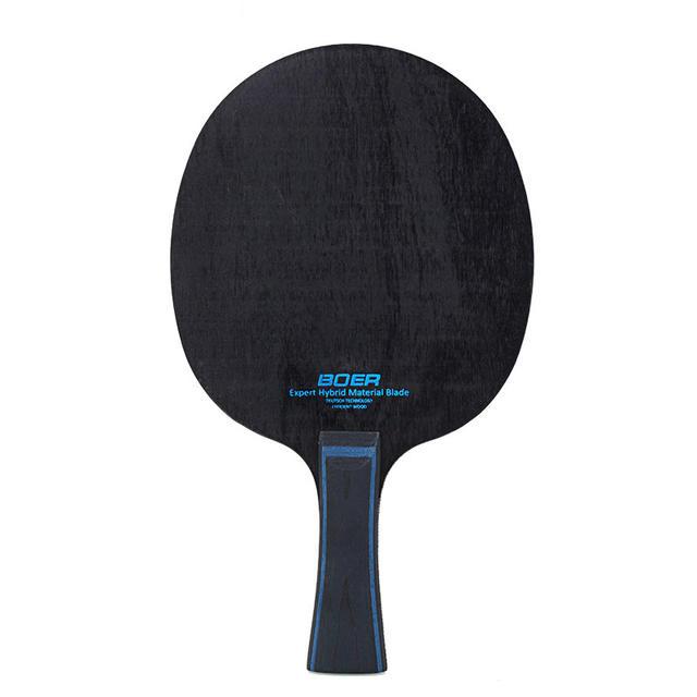 1pc Ping Pong Racket Long Lightweight Carbon Fiber Table Tennis