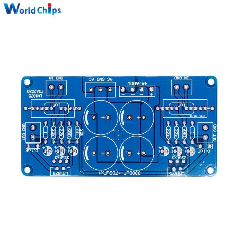 LM675 LM1875T TDA2030 TDA2030A Audio Power Amplifier PCB Board DIY