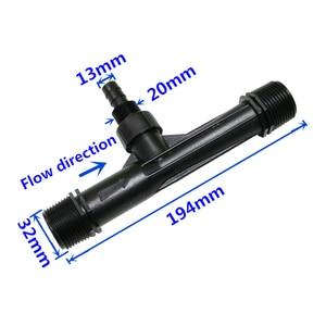 Image 4 - 1 Pc 1/2, 3/4, 1 inch Thread Venturi Fertilizer Injector Irrigation Drip Device Flowers Fertilization Garden Water Tube Emitter