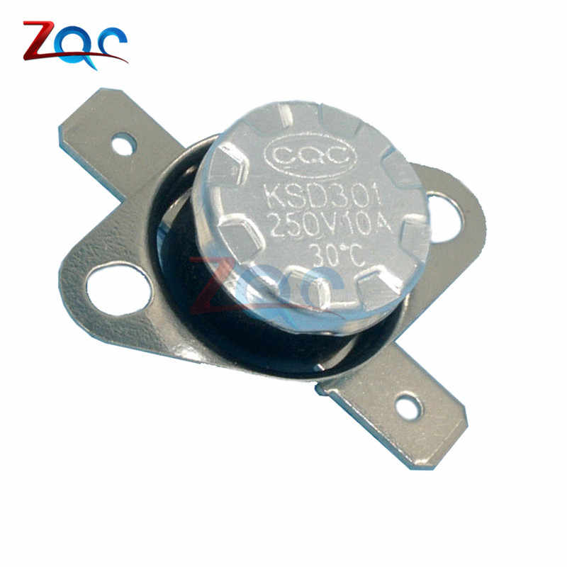 KSD301 NC 90°C Thermostat,Temperature Switch Normally NC 10amp 100-250VAC DC