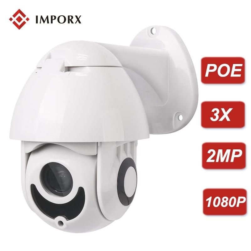 1080P 2MP PTZ IP Camera Outdoor Onvif 3X Optical ZOOM Waterproof Mini Speed Dome Camera POE H.265 IR20M P2P CCTV Security Camera gadinan 720p 960p 1080p poe camera onvif p2p security ip camera 25fps hi3518ev200 hi3516cv300 h 265 metal dome camera ip cctv