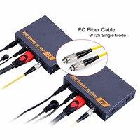Новый оптоволоконный удлинитель HDMI конвертер 20 км по TCP IP 1080 P HDMI волоконно Оптическая передача по SC/FC волоконный кабель поддержка IR