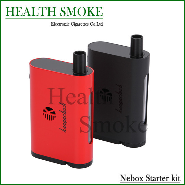 In Stock Authentic Kanger Nebox Start Kit With 10ml Using Mini RBA And 60W Kanger Nebox TC Mod Electronic Cigarette Kit
