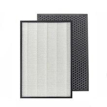 Sharp FU A80A/FU A80A W Sharp FZ A80SFE Purificatore Daria HEPA e filtro a carboni attivi Adatto Per Sharp FU A80E/FU A80A/ FU A80A W