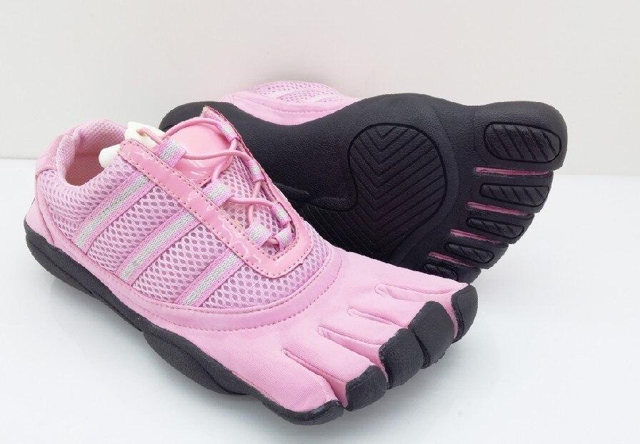 Chaussures à cinq orteils respirant anti-dérapant résistant aux chocs danse résistant à l'usure Yoga professionnel intérieur Pilates chaussures d'entraînement