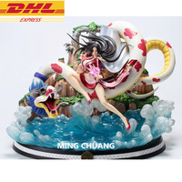 15ONE PIECE Statue Seven Warlords Of The Sea Bust Boa Hancock Female Emperor Full Length Portrait GK Action Figure Toy D678
