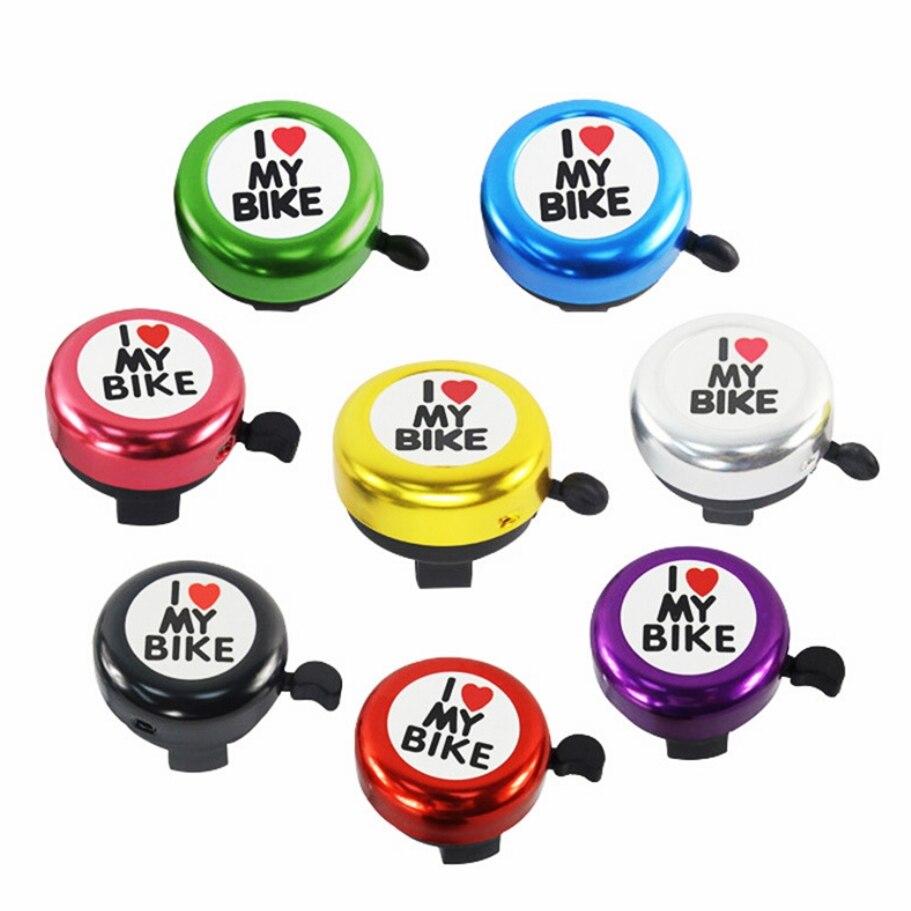 8 Colors Cute Bicycle Bell Handlebar Bell Loud Sound Bike Bells Alarm Warning Bells Ring Bike Accessories Cycling Ring Horn