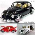 Candice guo! venta caliente clásico de aleación modelo de coche 1:18 escarabajo coche de la burbuja de regalo de cumpleaños 1 unid