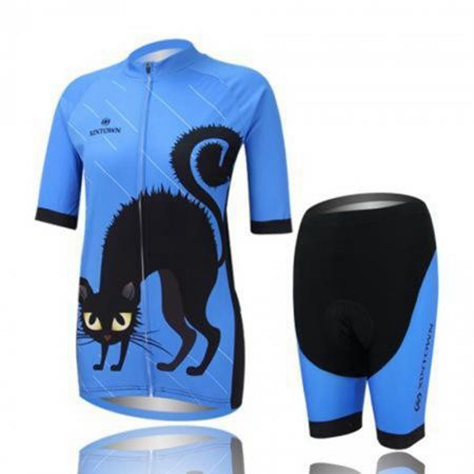 Hot Women's Sportwear Cycling jersey Ciclismo Bike Bicycle Shirt Clothing Shorts Set Breathable Quick Dry