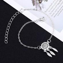 Fashion DIY Tassel Pendant Bracelet Ms. Letter Partner Hollow Lotus Best Friends Valentines Day Couple Gift