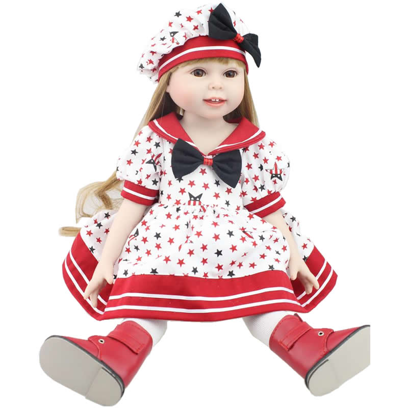 Free Shipping Hot 2016 New Style Popular 18 American Girl Doll Clothes/Dress For Girls Gift free shipping hot 2016 new style popular 18 american girl doll clothes dress for girls gift