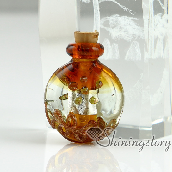 small glass vials for necklaces miniature hand blown glass bottle charms jewelleryminiature glass jarschina blown glass bottle pendant