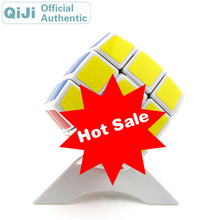 QiJi Bread 3x3x3 Magic Cube QJ 3x3 Cubo Magico Professional Neo Speed Cube Puzzle Antistress Fidget Toys For Children 0988 qj