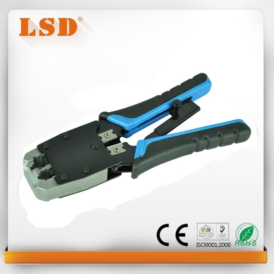 LT-500R ethernet RJ45 à sertir outil pour 8p8c 6p6c 6p4c UTP/STP câble cat5/6 netwrok outil lan réseau outil