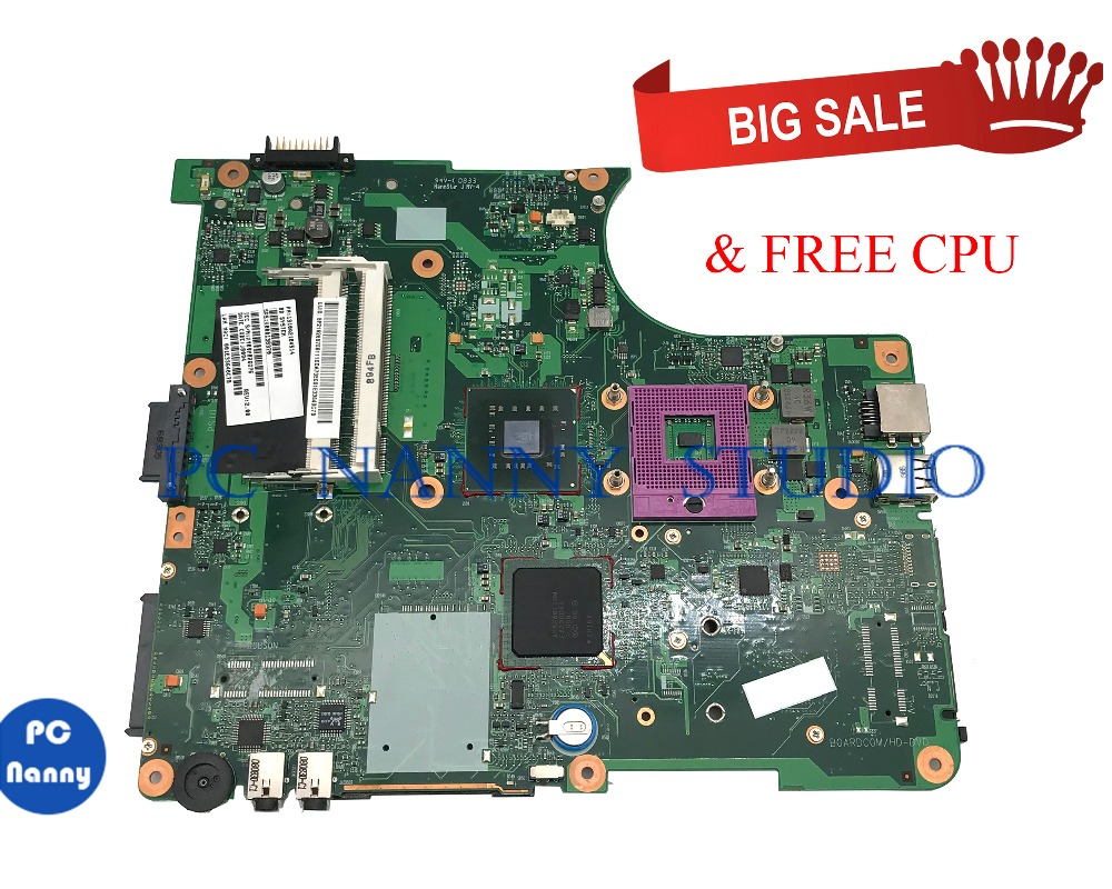 PC NANNY FOR Toshiba Satellite L300 L305 Laptop motherboard V000138370 DDR2 6050A2170401 MB tested
