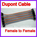 5pcs/Lot 40pcs in Row 21.5 cm 2.54mm  Female to Female Jumper Wire  Dupont Cable