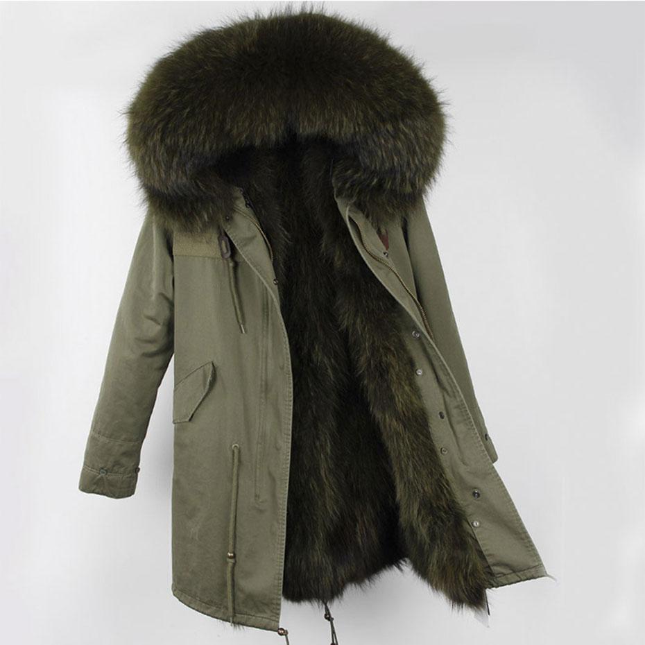 Hooded Fur parka (3)