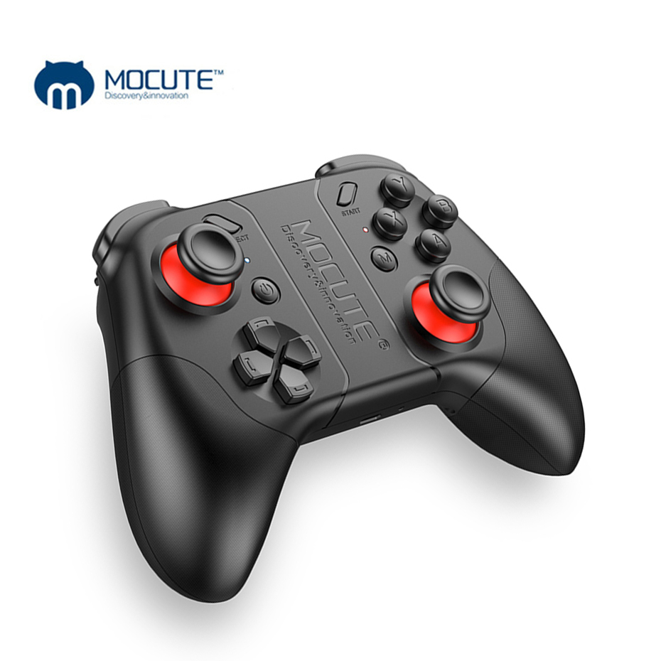 MOCUTE 053 VR Spiel Pad Wireless Bluetooth Controller Android Joystick Selfie Fernbedienung Gamepad für Android Telefon VR PC TV
